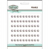The Hobby House Self Adhesive Pearls - 5mm Ivory Silk - HH515
